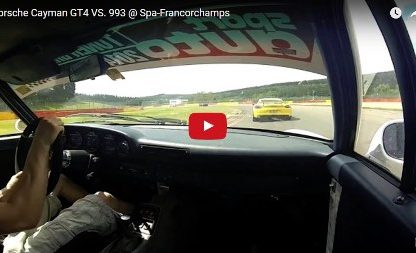 Watch a 993 Play Cat-and-Mouse With a Cayman GT4