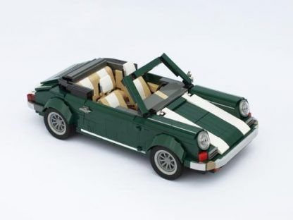 How To Build A LEGO 911 Cabriolet From An Inexpensive Mini Cooper Kit
