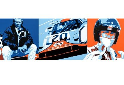 Exclusive: Hunziker Unveiling Trio Of New McQueen Porsche Paintings At Monterey Motorsports Reunion