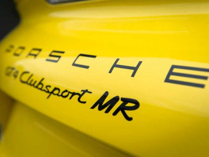 Now There's An Even Lighter and Sportier GT4 Clubsport. The MR Version