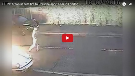 Watch: Video Footage Catches Arsonist Setting 911 On Fire ...