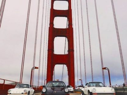 Across North America in Eight Days in Three 911s