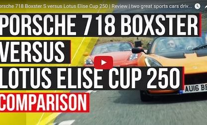 Porsche 718 S vs Lotus Elise Cup 250. Which Is The Better Driver's Car?