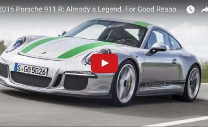 Motor Trend Drives The 911R And Deem It Legendary