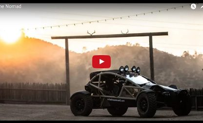 Not a Porsche: Leh Keen in an Ariel Nomad