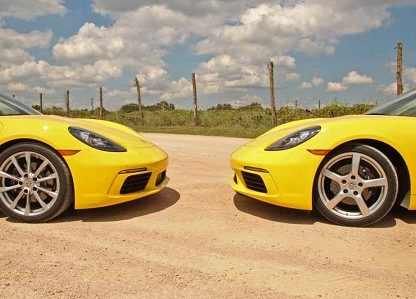 A Texas Tango With The 718 Twins: 2017 Boxster & Cayman Review