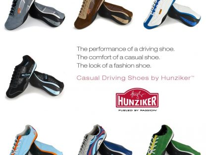 Hunziker Design's Racing Inspired Shoes Are Back!