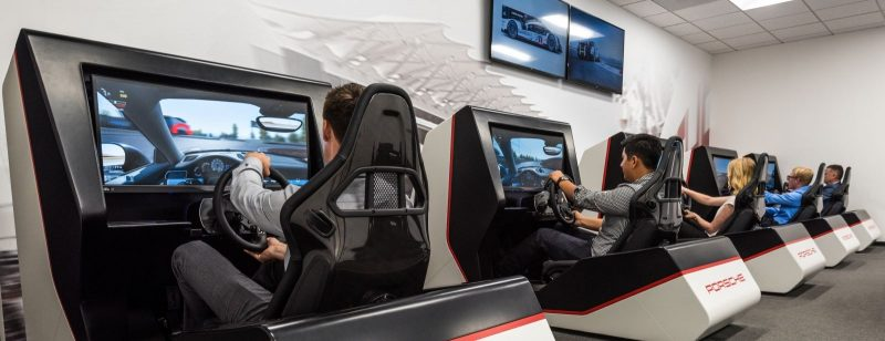 the new porsche experience center in la is now open flatsixes. Black Bedroom Furniture Sets. Home Design Ideas