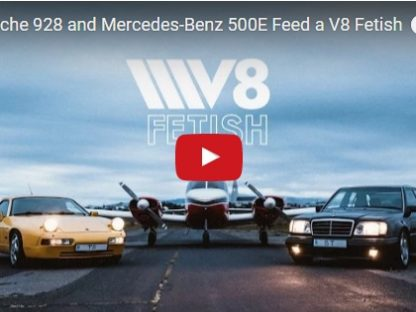 500E vs 928S4: One Porsche V8 Nut Has Both