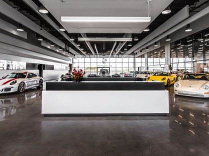 The New Porsche Experience Center in LA is Now Open!