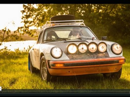 Slideways: The Only Way to Drive A Rally 911