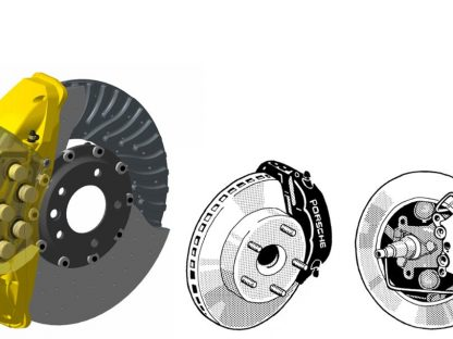 The Evolution of Porsche Disk Brakes
