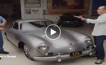 Set Your DVR: Two of the world's Biggest Porsche Celebrities Visit Jay Leno's Garage
