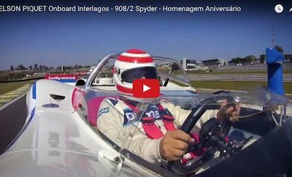 Watch Nelson Piquet as he Laps Interlagos in a Porsche 908/2 Spyder