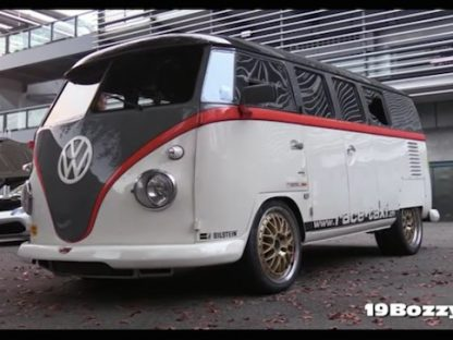 993 Turbo-Powered VW Bus Will Warp Your Sense of Reality