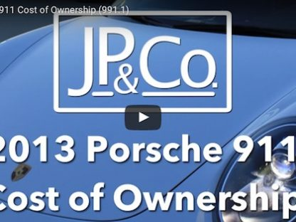 2013 Porsche 911 Cost of Ownership Breakdown
