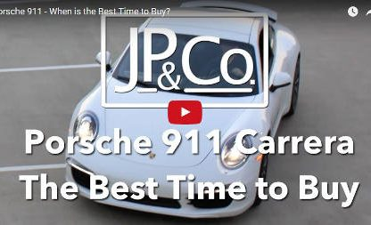 Riding the Depreciation Curve: When to buy a used 911.