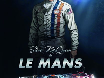 Steve McQueen in Le Mans; The Graphic Novel
