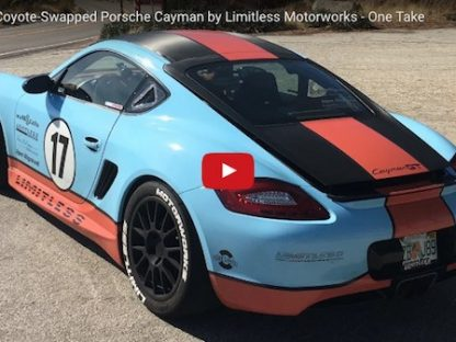 Driving the 425 HP Ford V8 Swapped Cayman – One Take Video