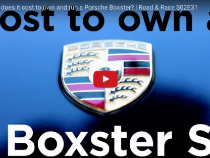How Much Does It Really Cost To Maintain An Older Porsche Boxster