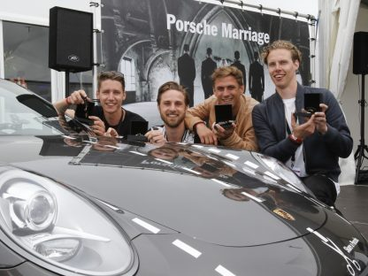 These 4 Guys Married Each Other To Win a Porsche!