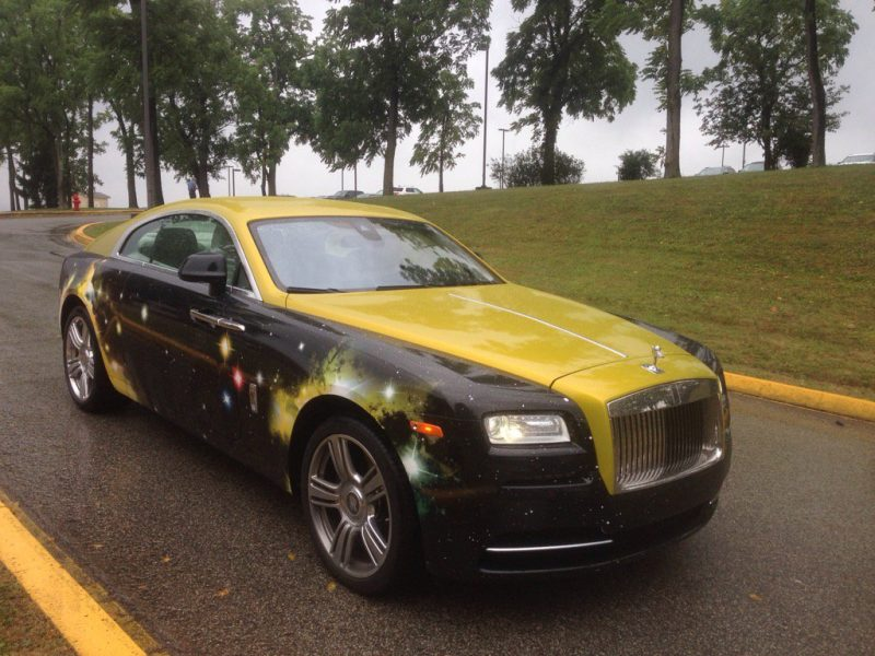 Antonio Brown's Rolls Royce