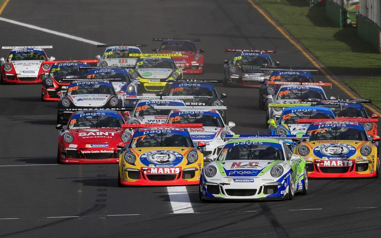 911 Carrera Cup Cars at Bathurst