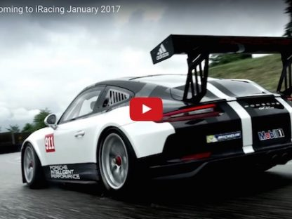 Porsche and iRacing. Two of the World's Best Together at Last!