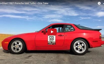 One Take: Matt Farah Drives a ~300 Horsepower 944 Turbo