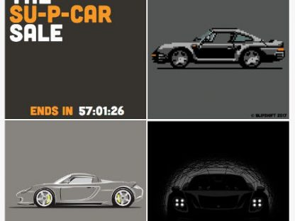 Porsche Supercar Shirts on Blipshift this Weekend!