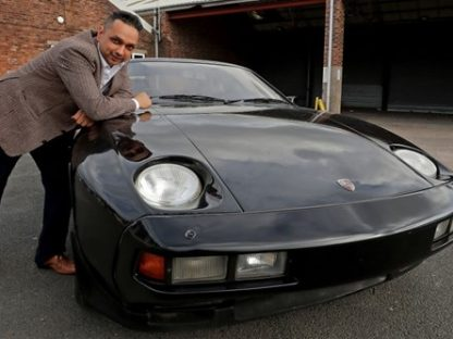 Former Beatle George Harrison's Porsche 928 Up For Auction
