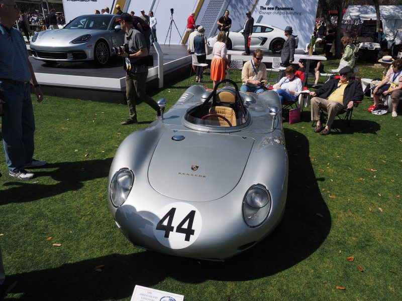 A 1959 Porsche 718 RSK Center Seat during the 2017 Amelia Island Concours