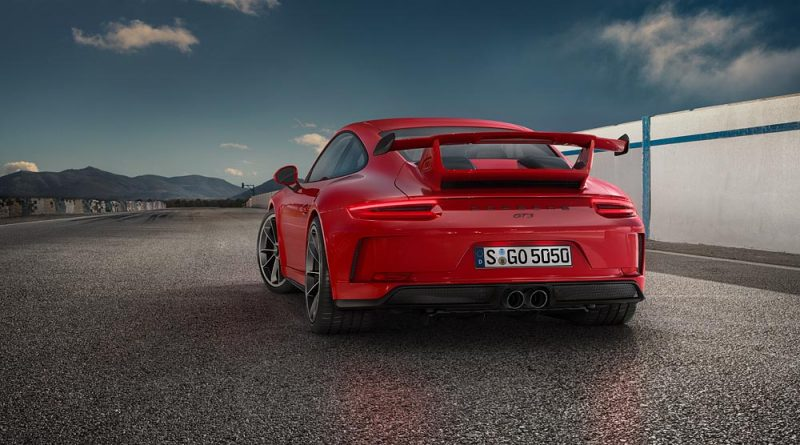new car launches in germany2018 Porsche 911 GT3 Gets 40 Engine and Manual Transmission