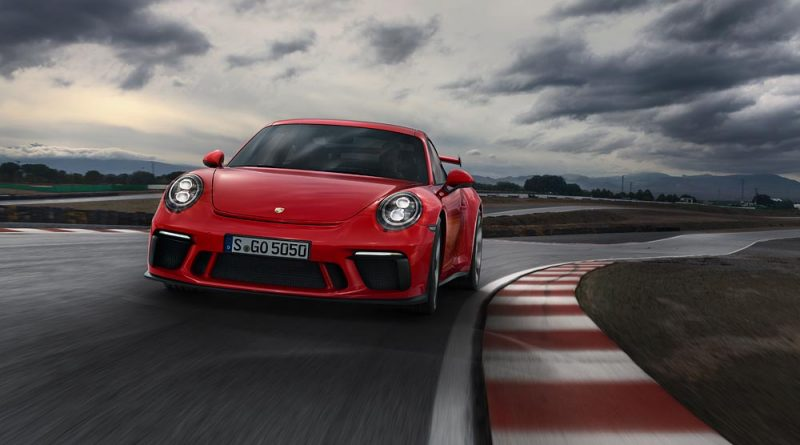 2018 porsche 911 gt3 rs. modren porsche german pricing the 911 gt3 is available to order now it will be launched  in germany from midjune prices for the new highperformance start at  inside 2018 porsche gt3 rs