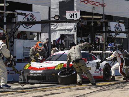 Porsche's Pictures and Results from the 12 Hours of Sebring