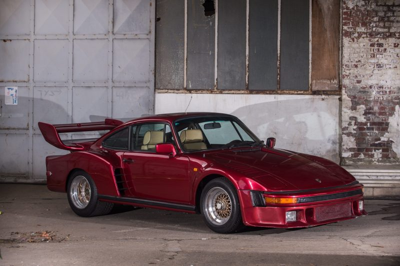 Street legal Porsche 935 built from a 930 by Porsche Exclusive for Mansour Oijeh