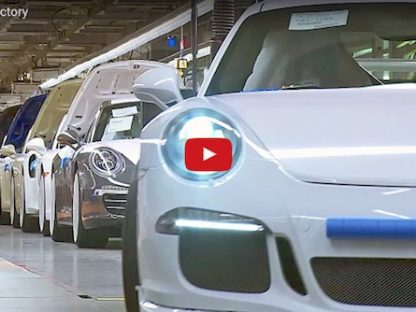 The Silence Inside the Porsche Factory is Deafening