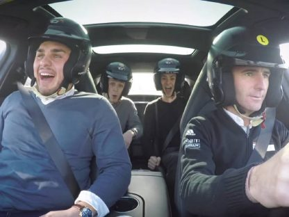 Watch as Romain Dumas Scares The Crap Out Of Unsuspecting Ride Share Passengers