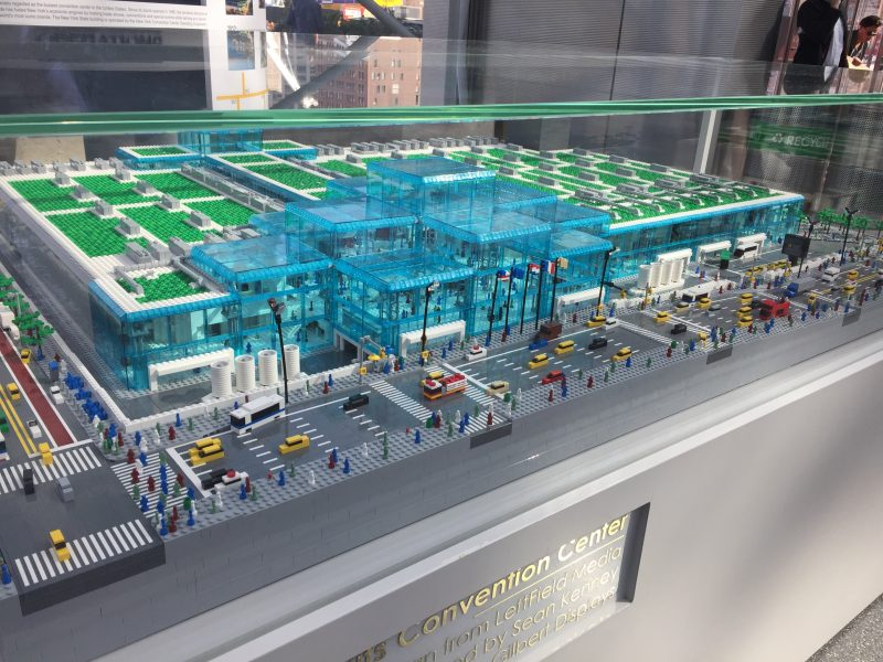 Javits Center Lego