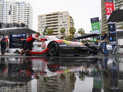 Porsche's Results and Pictures From the Long Beach Grand Prix