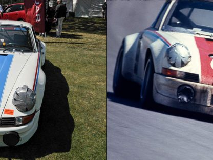 SEVEN AMELIA PORSCHES:  NOW AND THEN