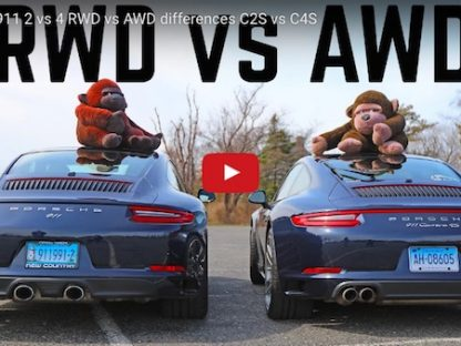 What's Right For You, An AWD 911 or RWD 911?