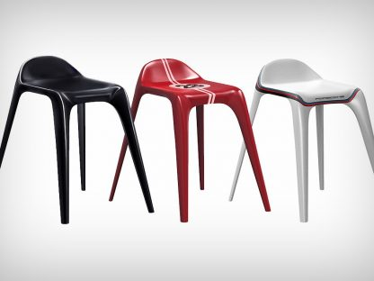 Product Designer Models Chair Based on '64 911