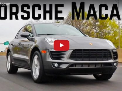 Review of the 2017 Porsche Macan Base Model