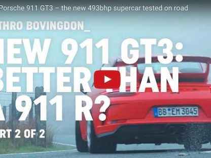 The New 911 GT3: Is It as Good as a 911R?