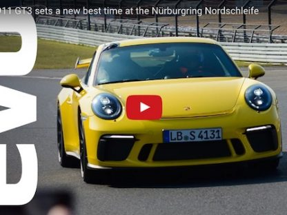 Watch the 911 GT3 Crush its Nurburgring Record by 12+ Seconds