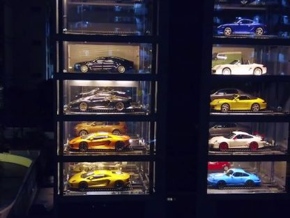 15 Story Vending Machine Dispenses Porsches and Other Exotics