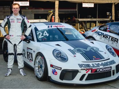 A New Face To Watch in Porsche Motorsport: Hurley Haywood Scholarship Winner Jake Eidson