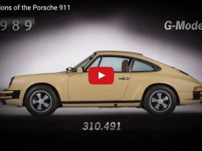 There Are 7 Generations of the 911.  Here's How Many Porsche Produced of Each!