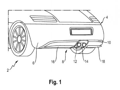 Porsche Patent Shows Active Rear Diffuser Invention